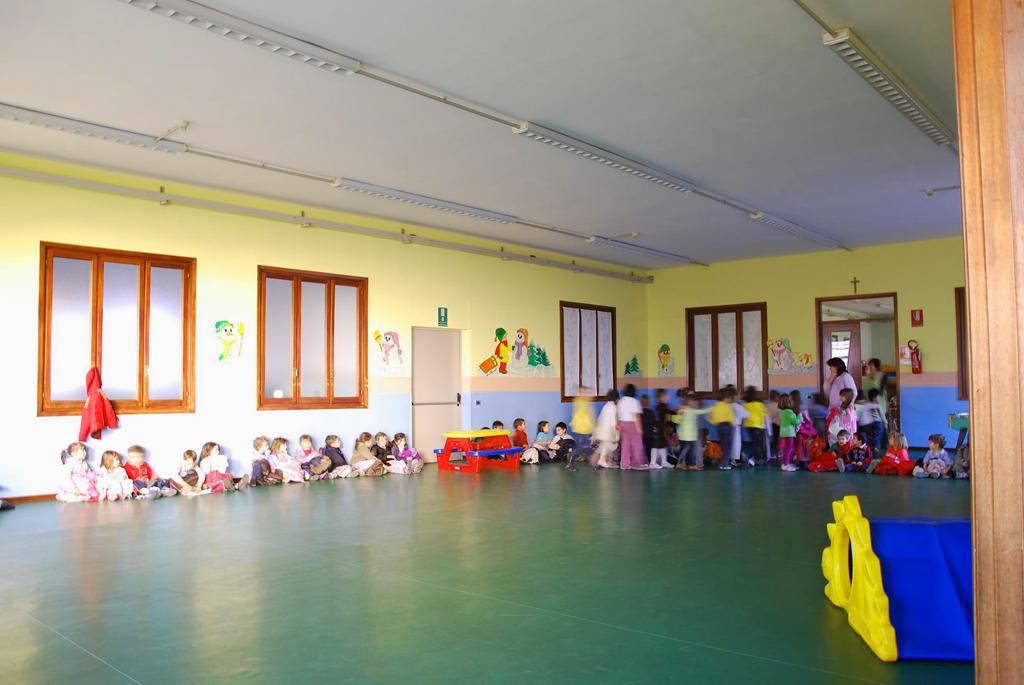 La scuola s giuseppe parrocchia di santena for Arredo scuola materna