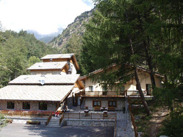 Casa alpina di Brusson - La Ciamusira