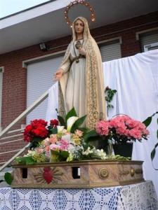 Le celebrazioni per la Madonna Pellegrina