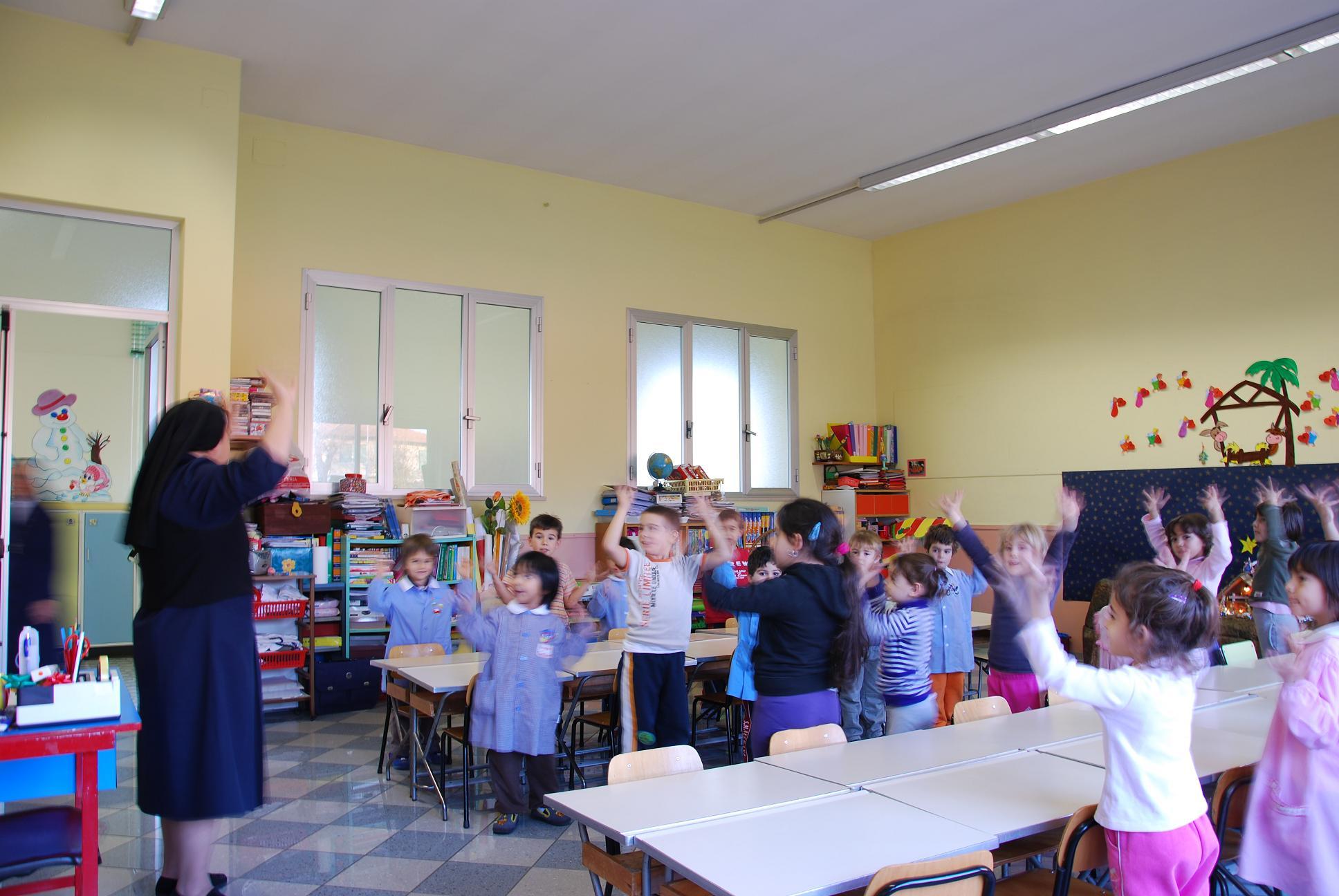 Salviamo la scuola materna san giuseppe parrocchia di for Scuola materna francese