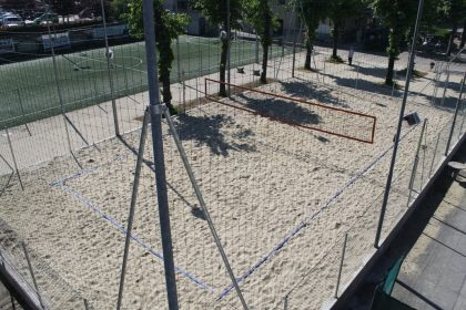 campo da beach-volley